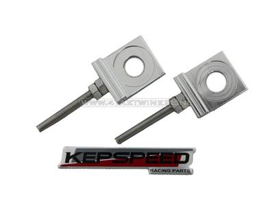 Jeu de tendeurs de chaîne, pour bras oscillant C50, SS50, CD50 Kepspeed, aluminium