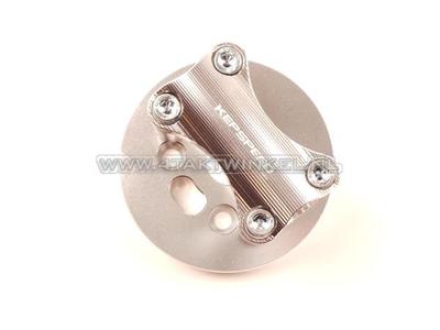 Plaque superieur de fourche C50, pour guidon 22 mm, aluminium