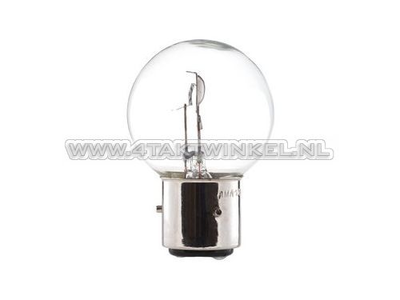 Lampe frontale BA21D, double, 6 volts, 35-35 watts, Dax 3 pieds