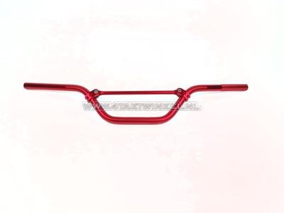 Guidon aluminium large, rouge