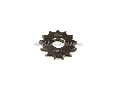 Pignon avant, chaîne 428, axe 20 mm, 13, Ace / Ape 125