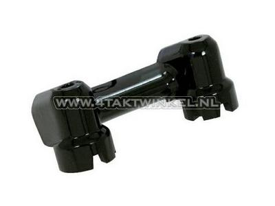 Pontets de guidon Dax / Monkey aluminium standard, noir