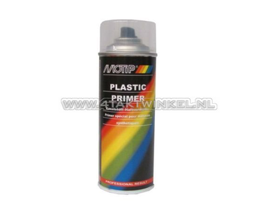Apprêt peinture Motip pour plastique