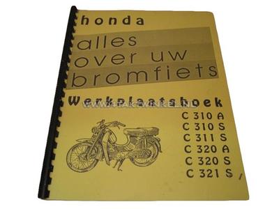 Manuel d'atelier, Honda C310, C320 A et S