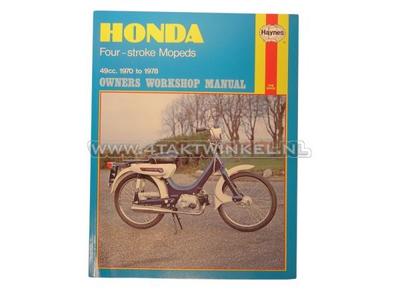 Manuel d'atelier, Honda PC50, Novio, Amigo, Haynes, original