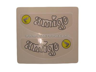 Autocollant Amigo frame tube, set