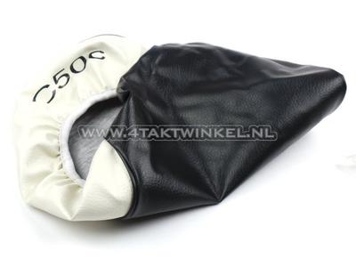 Housse buddy C50 NT noir / blanc, impression C50