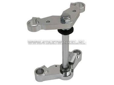 Te de fourche et  plaque de haut de fourche Monkey 30 mm, largeur standard, aluminium