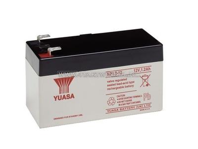 Batterie 12 volts 1,2 ampère gel Yuasa