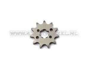 Pignon avant, chaîne 420, axe 17 mm, 11, SS50, C50, Dax, trous m3