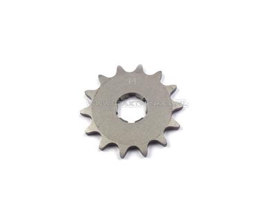 Pignon avant, chaîne 415, axe 20 mm, 14, Novio, Amigo, PC50