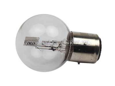 Lampe frontale BA21D, double, 6 volts, 15-15 watts, Dax 3 pieds