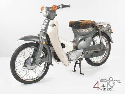 Honda C70 K1 Japanese, gray, 15719km