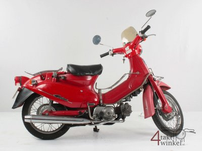 Honda Little Cubra 50, red, 19851 km, with papers