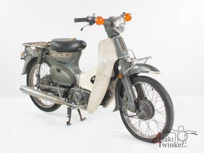 Honda C70 K1 Japanese, gray, 10406 km