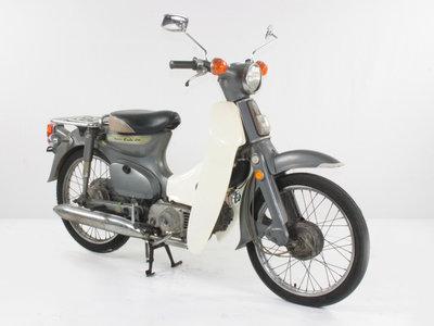Honda C70 K1 Japanese, gray, 13977km