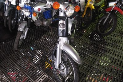 Honda C50 NT, 5079km, with papers