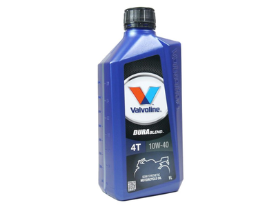 Huile Valvoline 10w-40 semi-synthétique, 4 temps, 1 litre