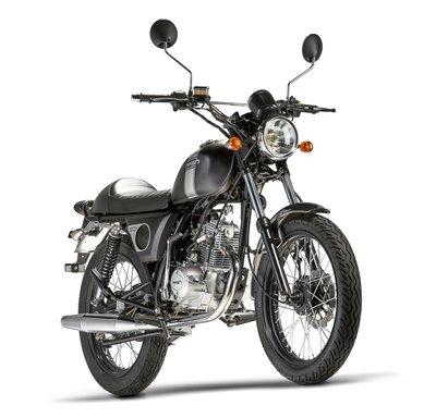 Mash Fifty, 50cc, zwart, Euro 4