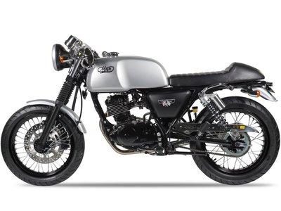 Mash Caferacer 125cc zilver