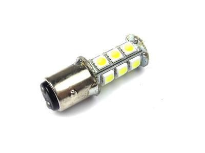 Feu arrière double BAY15D, 12 volts, LED, blanc, type 2 (long),
