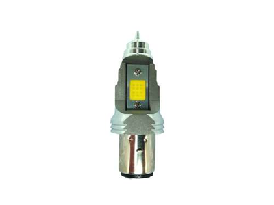 Phare BA20d, double, 12 volts, 11-11 watts, LED, y compris Skyteam, Mash